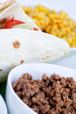 Taco Detail Royalty Free Stock Photos