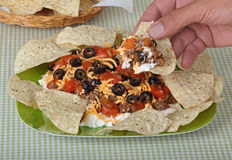 Taco Dip Royalty Free Stock Images