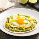 Taco do café da manhã Imagem de Stock