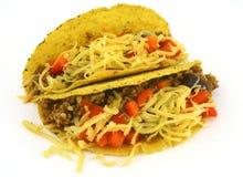 Taco dobro Imagens de Stock