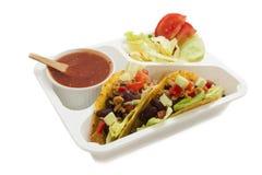 Taco gościa restauracji zestaw Zdjęcia Stock