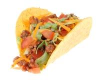 Taco isolato Fotografie Stock Libere da Diritti