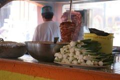 Taco kitchen. Tijuana, Mexico Stock Images