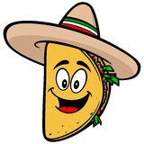 Taco Mascot Royalty Free Stock Photo