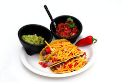 Taco Meal royalty free stock images