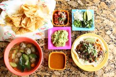Taco meal Royalty Free Stock Photography