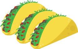 Taco Meal Stock Photo