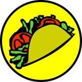 Taco messicano Fotografia Stock