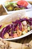 Taco mou de poissons de mahi de Mahi image stock