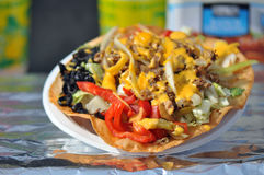 Taco Nacho Salad Stock Image