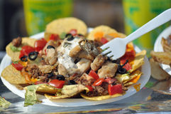 Taco Nacho Salad Stock Photography