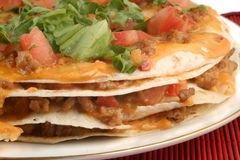 Taco pizza Royalty Free Stock Photos