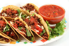 Taco's Stock Afbeelding