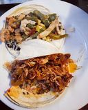 Taco's in Mexico Royalty-vrije Stock Foto's