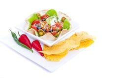 Taco sałatka zdjęcie stock