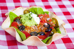 Taco salad Stock Photos