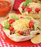 Taco Salad Meal Royalty Free Stock Images
