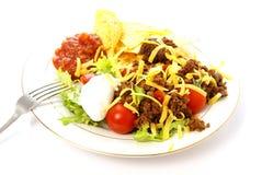 Taco-Salat Lizenzfreies Stockfoto