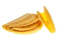 Taco shell stock images
