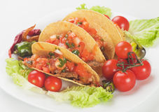 Taco shells Royalty Free Stock Photography