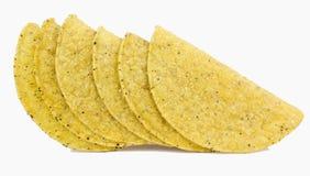 Taco skorupy obrazy royalty free