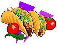 Taco special Stock Image