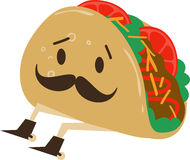 Taco With Spurs Stock Images