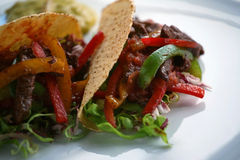 Taco squisito Fotografie Stock