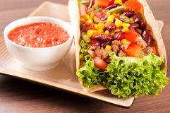 Taco time Royalty Free Stock Images