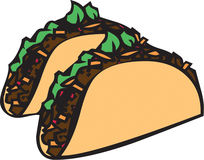 Taco Time Royalty Free Stock Photography