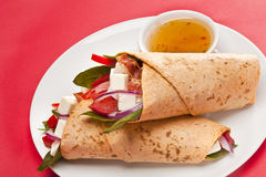 Taco Wrap Royalty Free Stock Photos