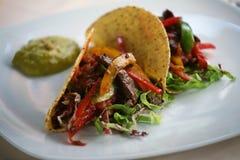 Taco-Zartheit Stockbild