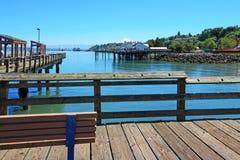 Tacoma, mola nabrzeże Ruston sposób fotografia stock