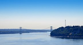 Tacoma Narrows Bridge Royalty Free Stock Image
