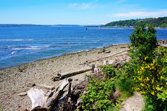 Tacoma NE Browns Point Puget Sound. Stock Photography