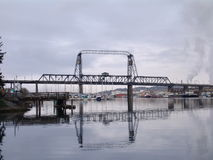 Tacoma Port Bridge Royalty Free Stock Photos