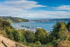 Tacoma port i Dżdżyści 7 obrazy stock