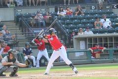 Tacoma Raineirs baseball Fotografering för Bildbyråer