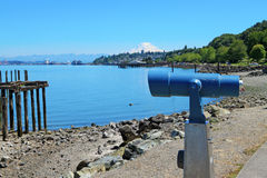 Tacoma, summer time. WA Royalty Free Stock Images