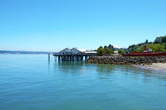Tacoma, summer time. WA Stock Photo