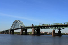 Tacony Palmyra Bridge New Jersey to Pennsylvania Stock Photography