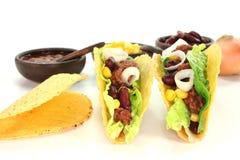 tacos говядины земной мексиканский Стоковое Изображение