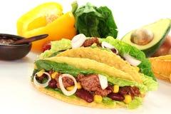 tacos говядины земной мексиканский Стоковое Изображение RF