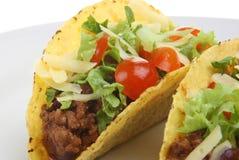 tacos говядины пряный Стоковое Изображение