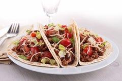 Tacos говядины Стоковое Изображение
