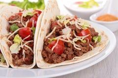 Tacos говядины Стоковое Изображение RF