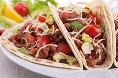 Tacos говядины Стоковые Фотографии RF