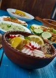 tacos зеленого мексиканского соуса кухни пряный традиционный Стоковое Изображение RF
