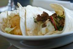 tacos рыб говядины мягкий Стоковые Фотографии RF