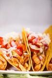Tacos цыпленка Стоковая Фотография